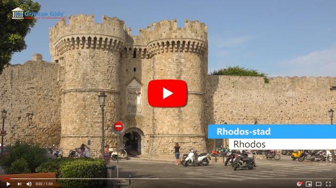 Impressie Rhodos stad