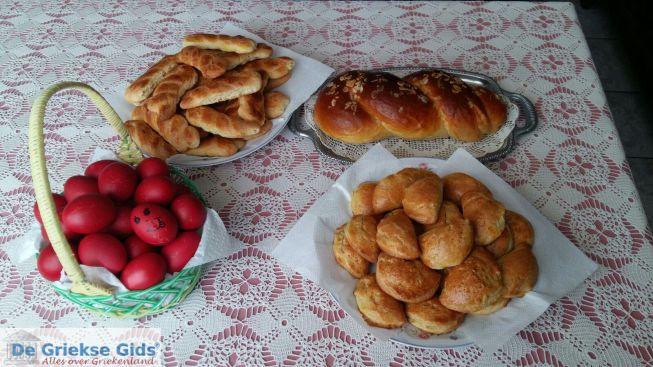 Tsoureki Grikes paasbrood