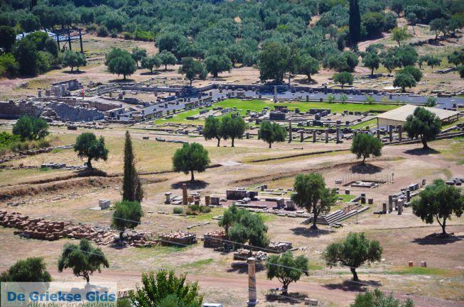 Opgravingen Oud-Messini op Peloponnesos