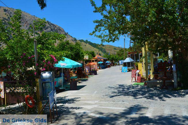 Kournas dorp Kreta