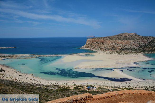 Balos beach in West Kreta