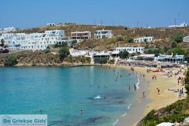 Agios Stefanos beach op Mykonos