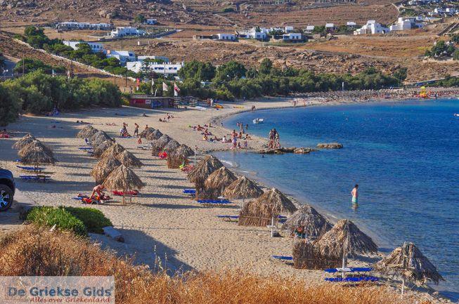 Kalafatis strand Mykonos