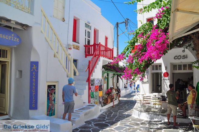 Mykonos stad straatje