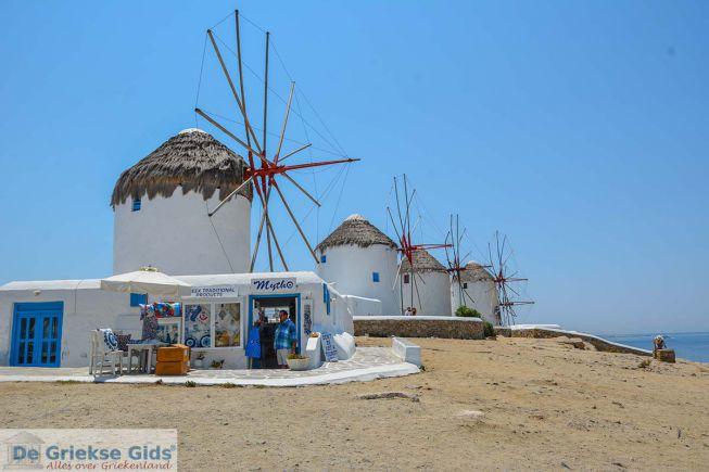 Molens Mykonos-stad
