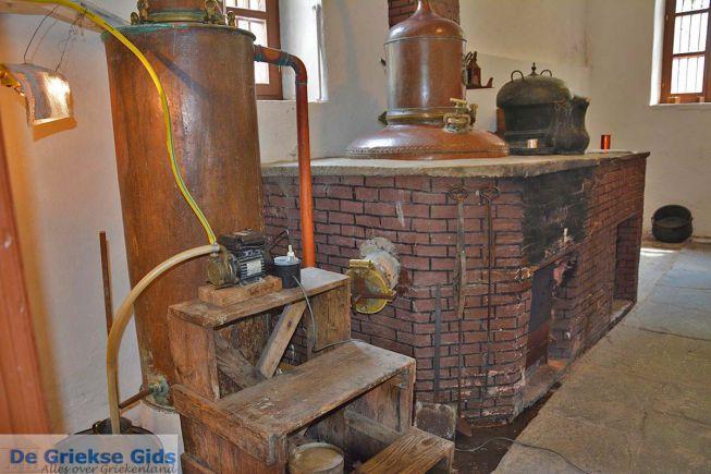 Naxos Chalkio destilleerderij Kitron