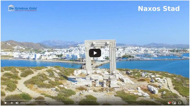 video Naxos stad