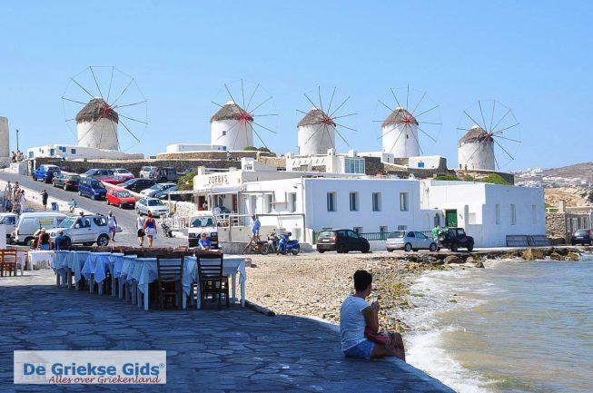 Mykonos stad de molens