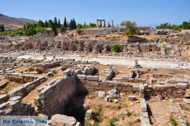 Oud-Korinthe - Korinthia Peloponnesos