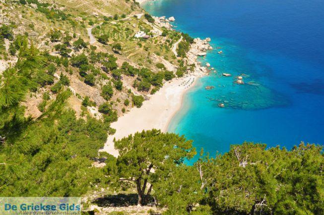 Apella Beach, een van de mooiste stranden op Karpathos