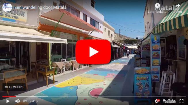 Matala wandeling video