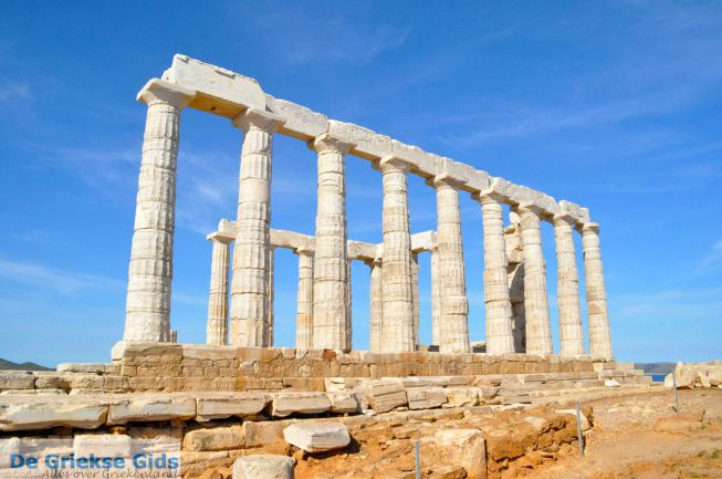 Sounion Poseidon tempel