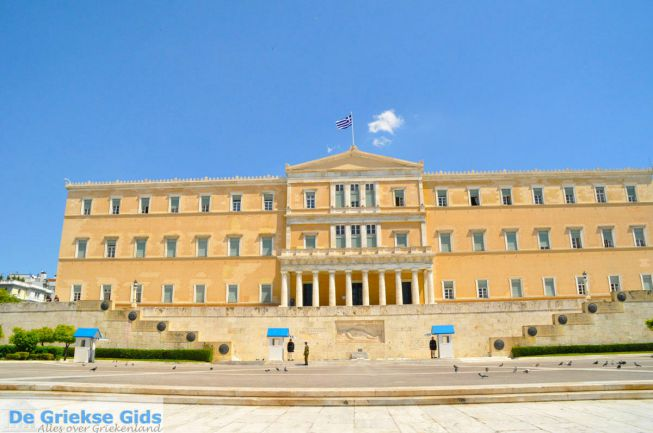 Grieks Parlement Athene Syntagma