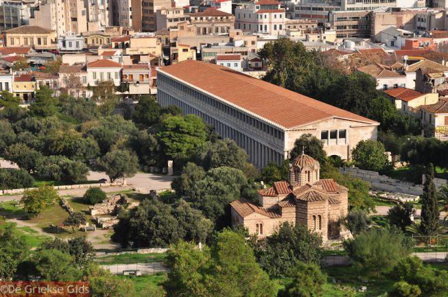 Stoa van Attalos Athene