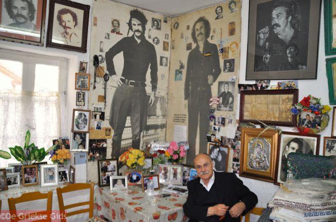 Huis Nikos Xilouris in Anogia