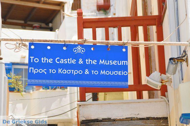Kasteel en museum Naxos