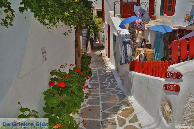 Naxos stad straatje