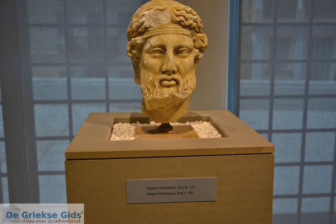 Griekse gods Dionisos, bachus
