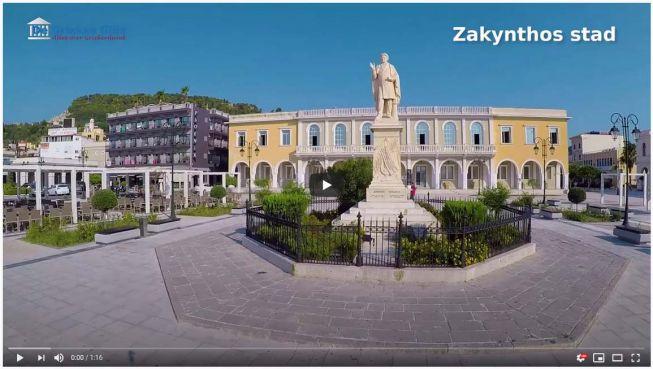 video Zakynthos stad