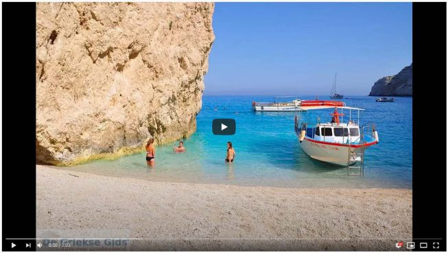 video Boottrip Zakynthos scheepswrak