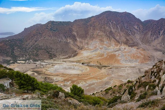 Nisyros vulkaan