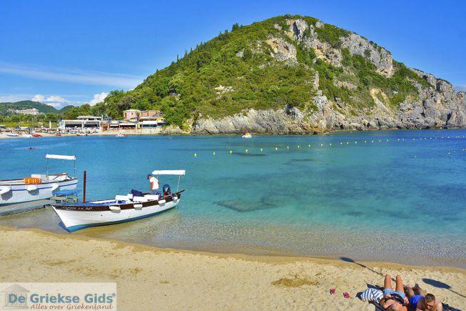 Strand Paleokastritsa Corfu
