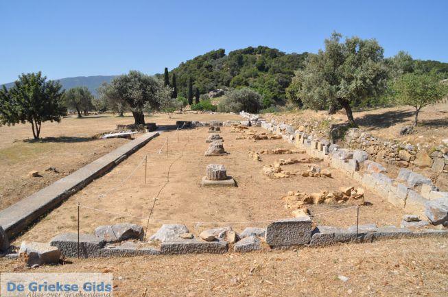 Tempel heiligdom Poseidon Poros