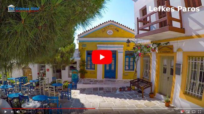 Het dorp Lefkes op Paros