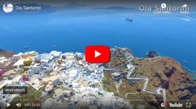 Oia op Santorini