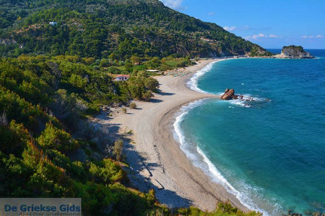 Potami strand Samos