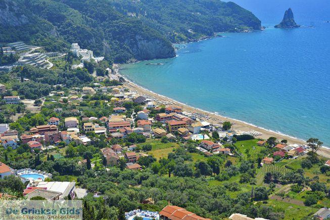 Uitzicht op Agios Gordios