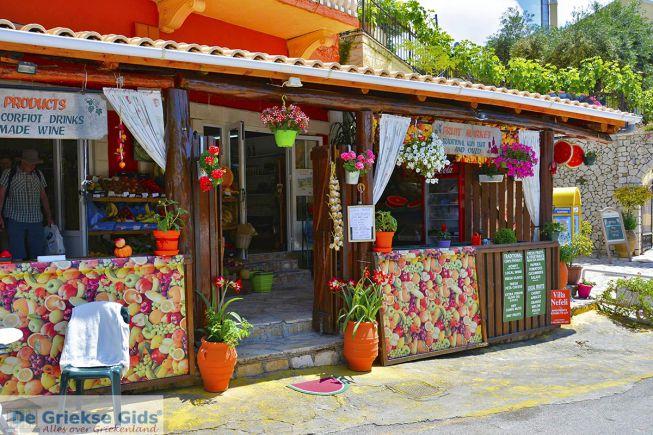 Winkeltje in Agios Gordios