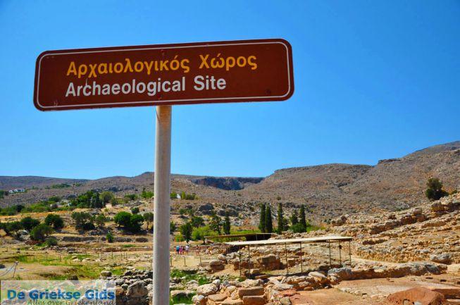 Opgravingen paleis Kato Zakros Kreta