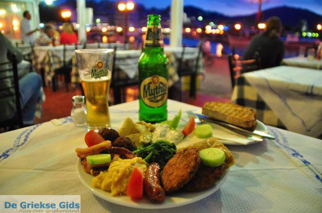 Lekker eten in Pigadia karpathos