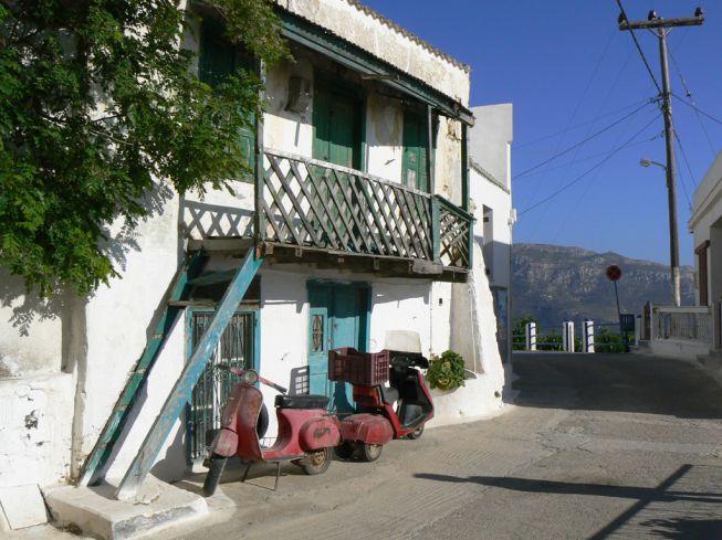 Straatje in Pyles Karpathos