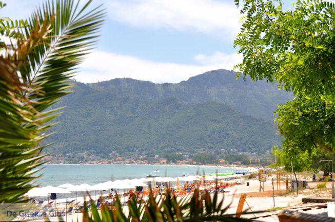 Golden beach Chrissi ammoudia Thassos
