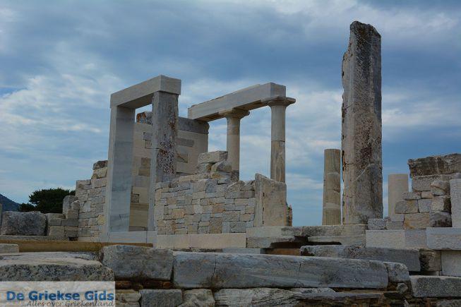 Tempel van Dimitra Sagri Naxos