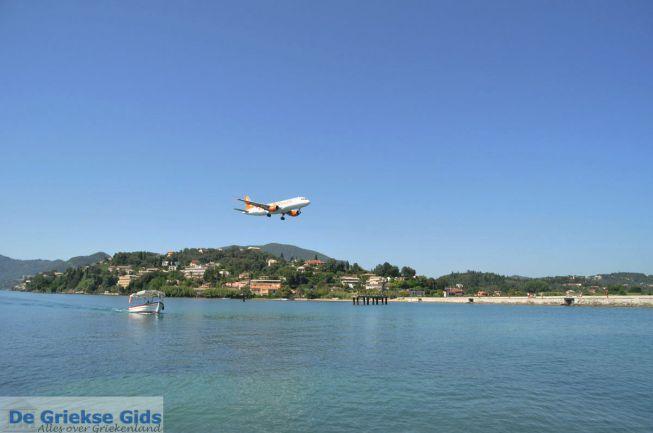 Corfu Kanoni vliegtuig