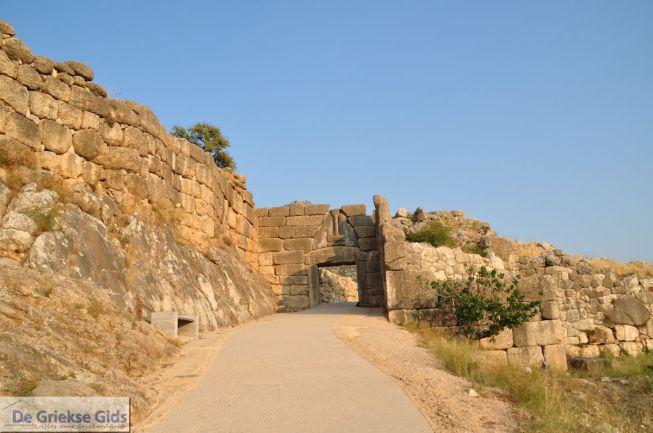 De Leeuwenpoort van Mycene