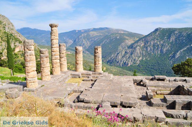 Delphi, Delfi Apollotempel