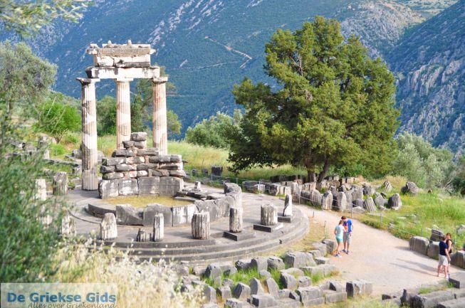Tempel Delphi Athene Pronaia