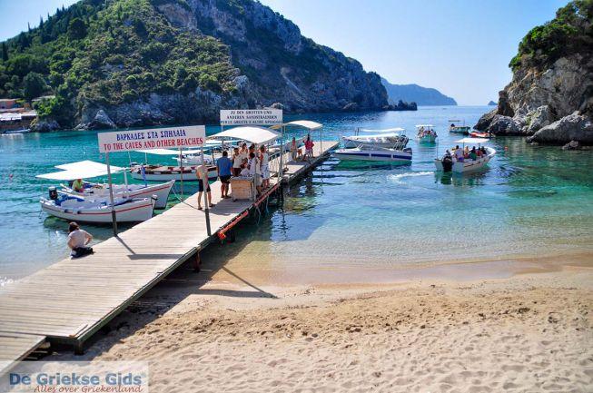Bootje Paleokastritsa Corfu