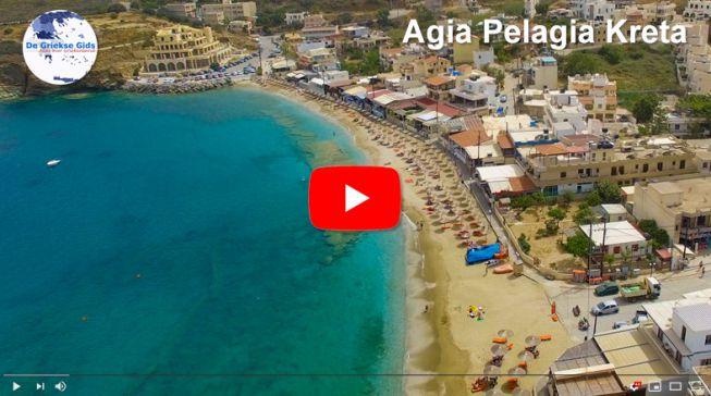Luchtvideo van Agia Pelagia