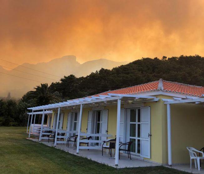 Natuurbrand Samos