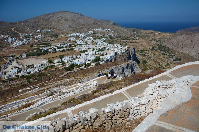 Uitzicht vanaf de Panagia kerk Folegandros