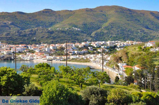 Andros-stad Griekenland