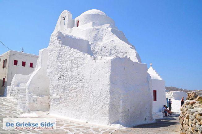Paraportiani kerk Mykonos stad