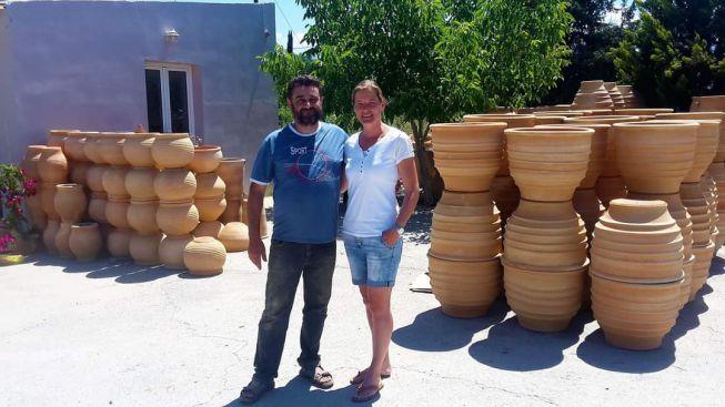 Manolis uit Kreta en Laila van Ellas Import