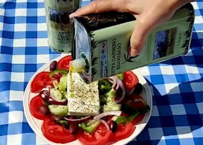extra vergine olijfolie uit Kreta