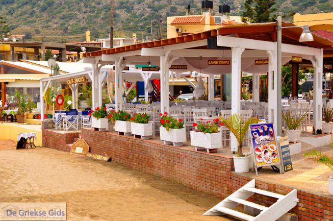 Leuke terrassen in Stalida
